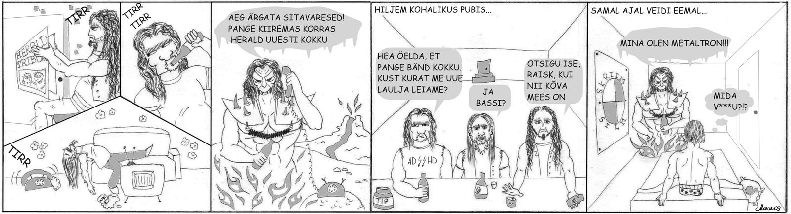 Heraldi koomiks nr 1