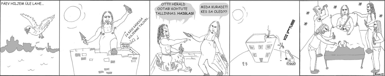 Heraldi koomiks nr 2